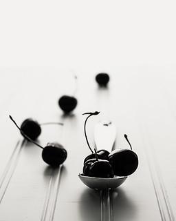 Trail of cherries