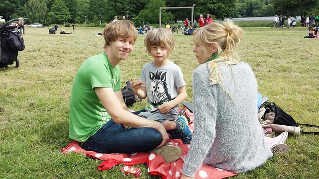 Midsommar 2014 Emeli, Fredrik, Mose