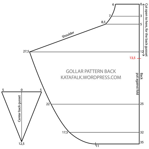 gollar - pattern back NEW