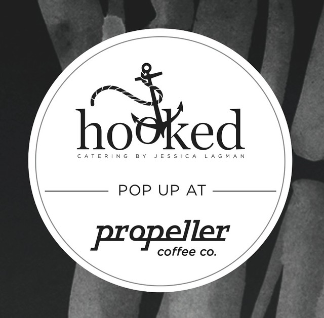 hooked-popup-photo, hooked catering, event, Toronto, food event, food pop up