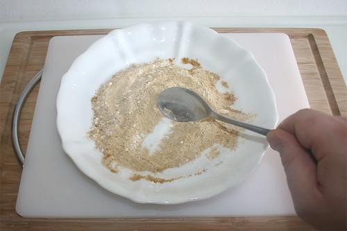 19 - Mehl & Thai-Curry vermischen / Mix flour & thai curry