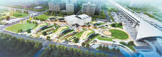 新竹站影城開發案 暫緩 台灣高鐵原本規畫高鐵新竹站的影城開發案,已決定暫緩。