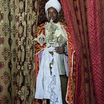 Ethiopian Orthodox Priest at Yemrehana Kristos Church - Lalibela, Ethiopia