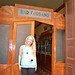 Mon, 06/30/2014 - 4:11pm - Paige in front of the Cordano Bar, one of the oldest in Lima and where presidents and politicians eat.