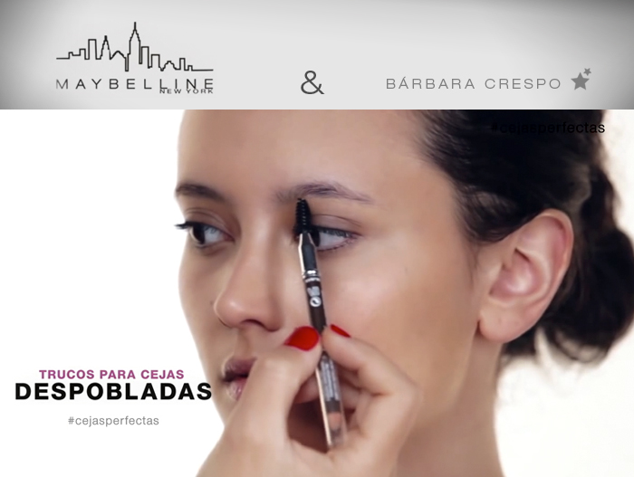 maybelline ny barbara crespo eyebrow design tips youtube video fashion blogger blog de moda brow drama cejas despobladas