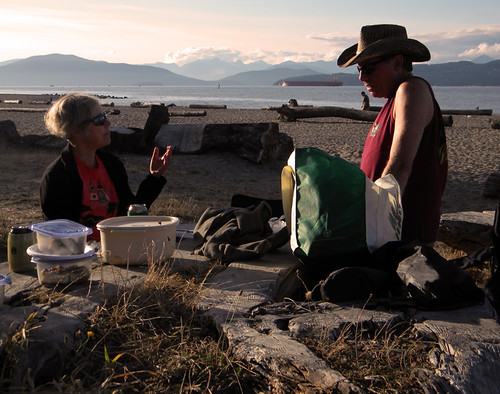 Spanish Banks: Picnic on the Beach