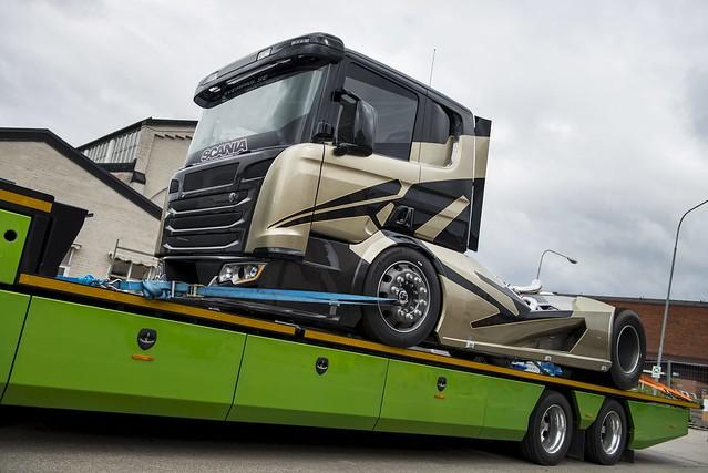 Svempa Bergendahl Scania V8