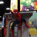 SDCC 2014 LEGO Spiderman