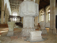 font and pedestals