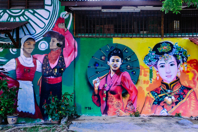 Malacca- Streets and Art.