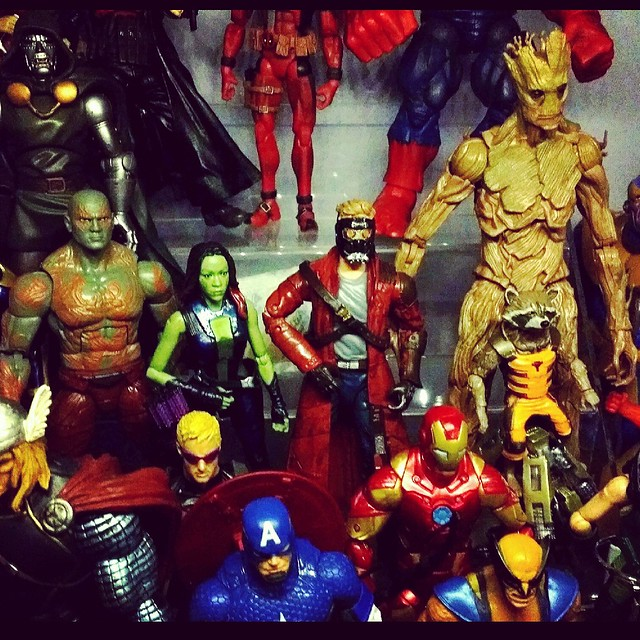 Guardians of the Galaxy #movie #moviebuff #marvel #geekshavethemostfun #actionfigurephotography