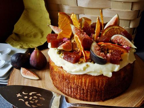 Persian Orange Torte