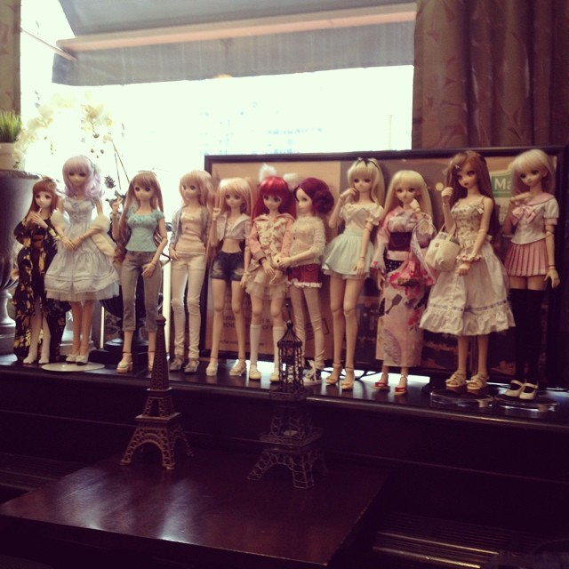 Dollfie Dream meet up today!