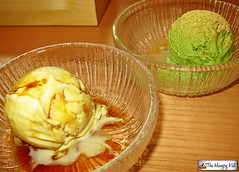 20140709 Saboten 30 Vanilla Ice Cream w Black Hone…