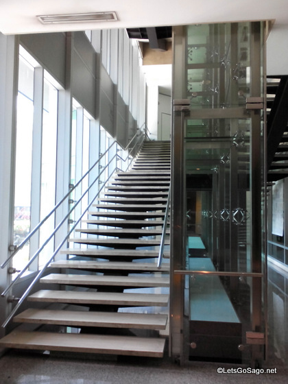 Ayala Museum Stairs (Photo by the Yoga Tablet 8)
