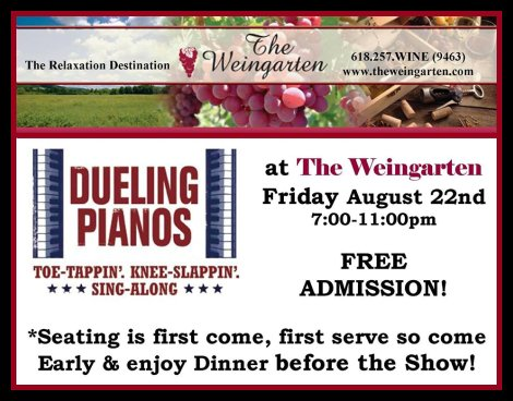 Dueling Pianos 8-22-14