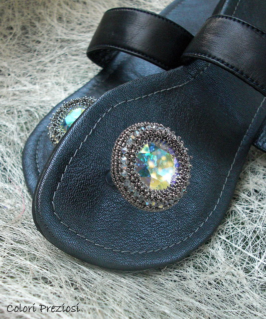 My beaded shoes