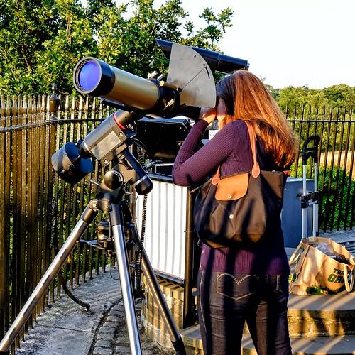 Viewing through 90mm Coronado