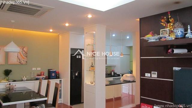 Thi công hoàn thiện nội thất nhà chị Nga - Hà Nội_05