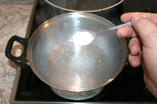 54 - Wasser salzen / Salz water