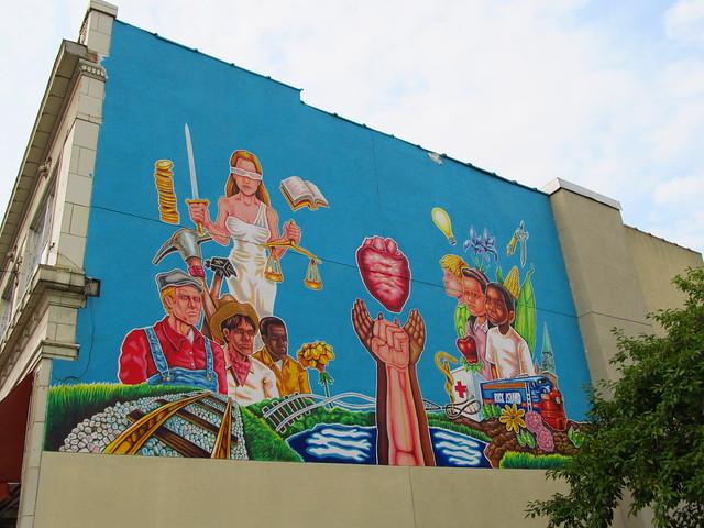 Blue Island Diversity Mural