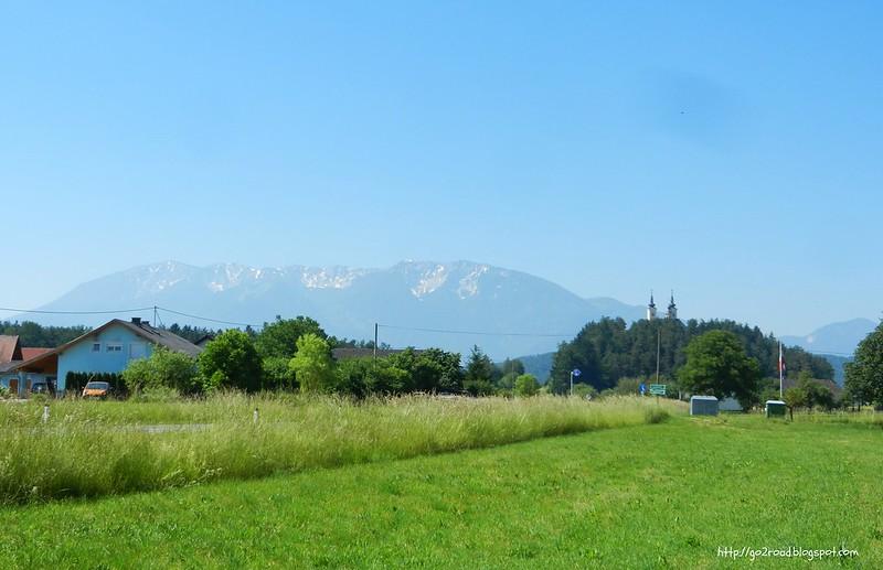 Граница Австрии и Словении