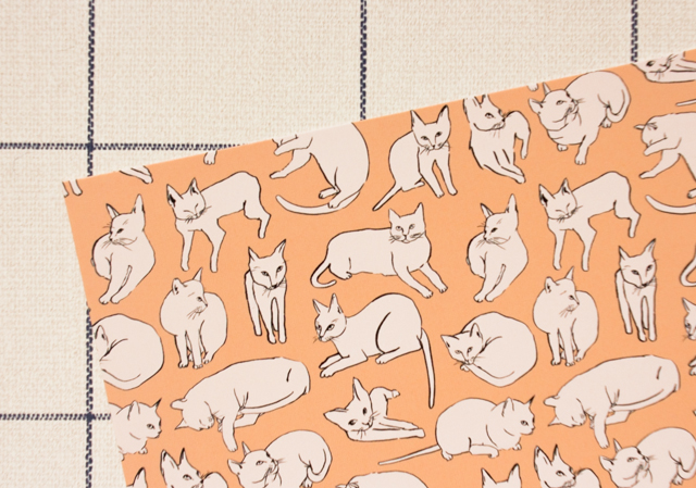 pattern box - leah reena goren cats