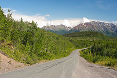 Stewart-Cassiar Highway 37 near Iskut, Northern British Columbia, Canada