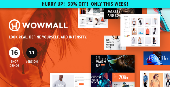 WOWmall v1.2.8 - fastest WordPress WooCommerce theme
