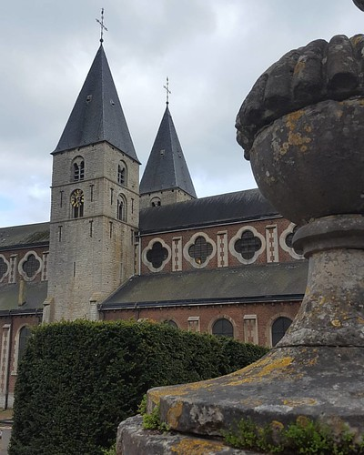 #church #flemish #clouds