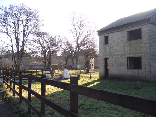 Imber Village, Shells of Houses used for combat training