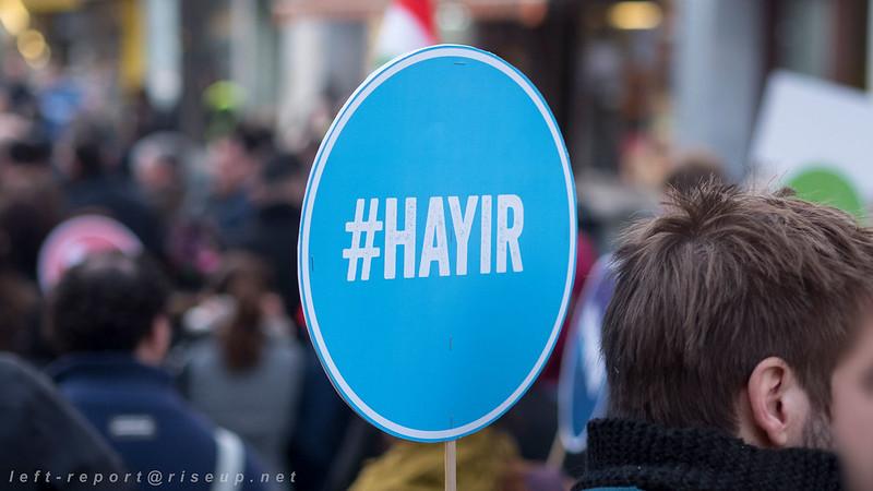 25.03.2017 - Hayir! Nein zu Diktatur und Faschismus!