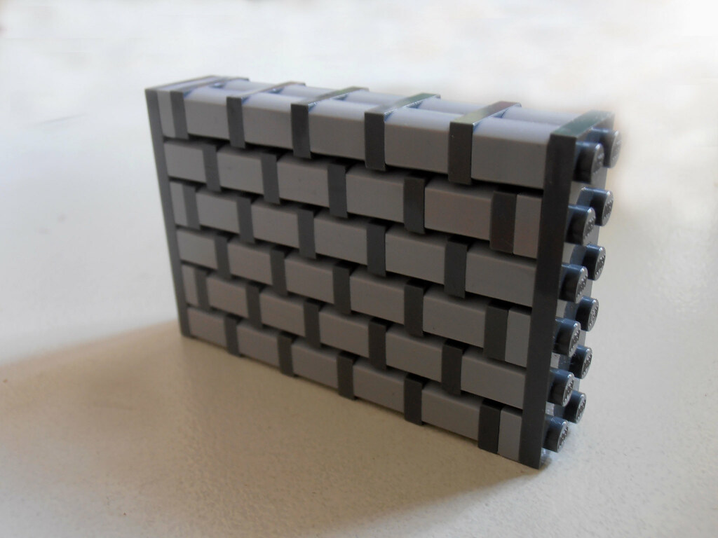wall technique no. 10 (custom built Lego model)