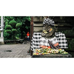 Humans and god in Bali  #vsco #god #traveltheworld #indonesia #travelblogger #color #sony📷 #sonya7 #travelgram