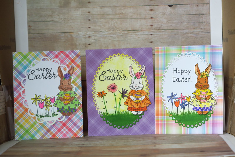 More Ms. Bunny Cards