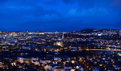 Trondheim 170405-4w2 Utsikten kveld