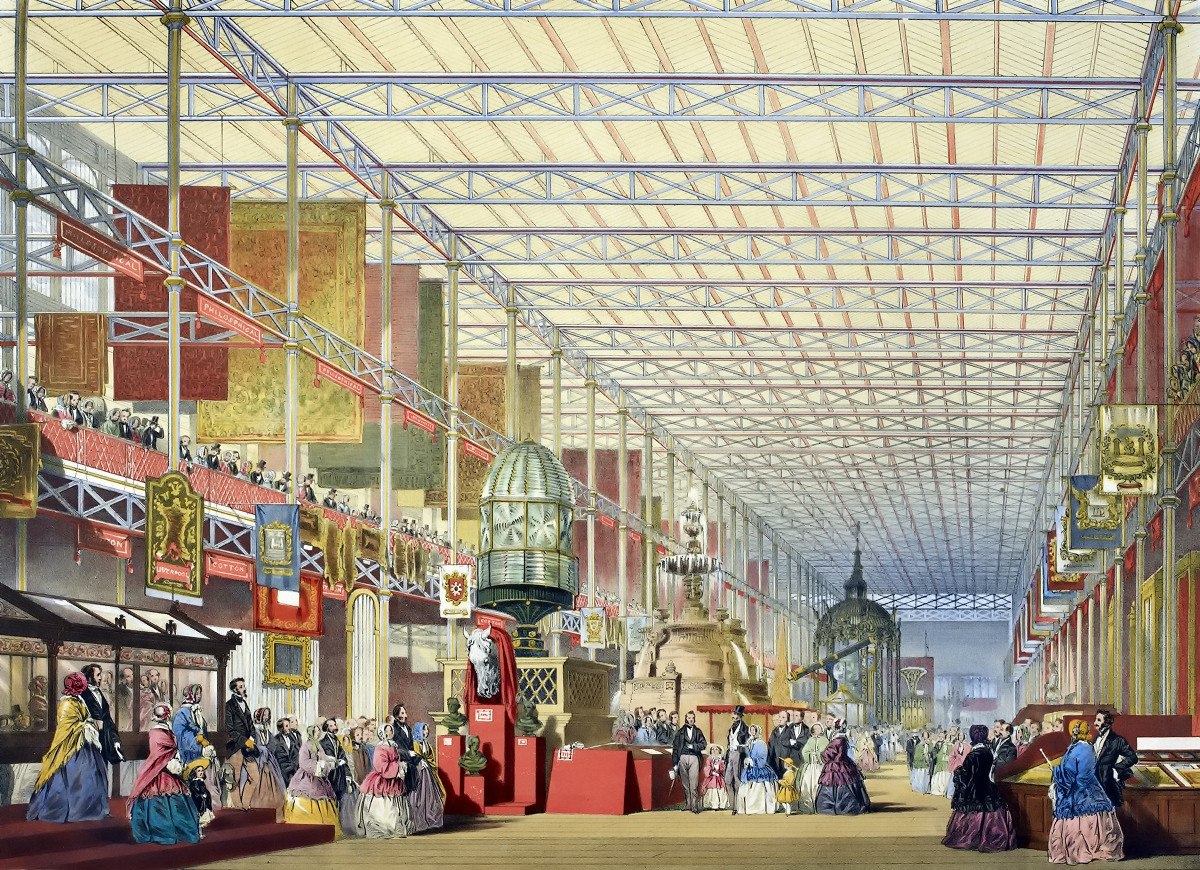 The British Nave - Dickinson's comprehensive pictures of the Great Exhibition of 1851
