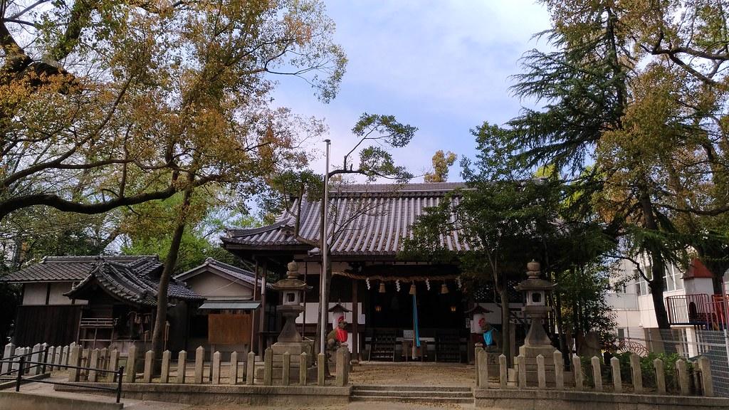 椋橋神社 本殿
