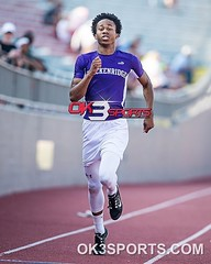 #RoadToState Region IV 5A Track and Field William Hall 400m #ok3sports #sportsphotography