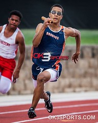 District 28-6A Finals JV 4x200m  #ok3sports #nikonsports #sportsphotography