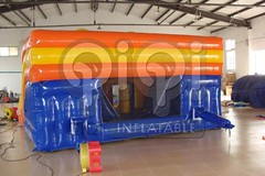 Island style inflatable water slide-04