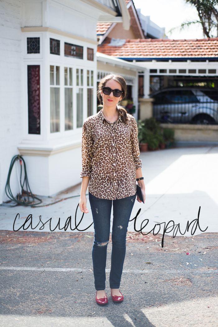 Casual leopard print