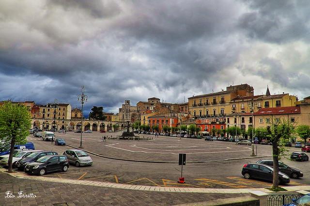 Piazza Garibaldi (Sulmona) ITALY