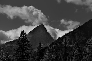 Fusillade Mountain (Black & White)