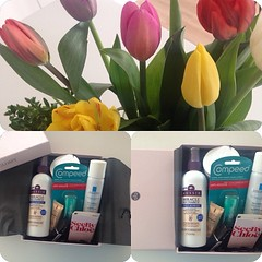 New glossybox #newin #cosmetics #glossybox #glossy #box #surprise #flowers #tulips #spring #eastertime #easter   Glossy Box tests et avis sur la box