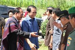 Kunjungan Kerja Ketua DPR RI Marzuki Alie di Tobasa