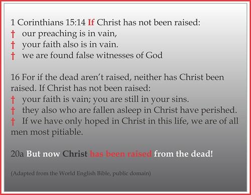 1 Corinthians 15 bullets