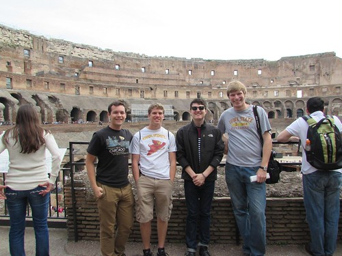 Iowa State students invade Rome