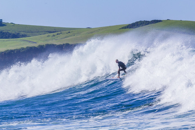 Photo:Big Swell at Werri Beach By:Andy Hutchinson