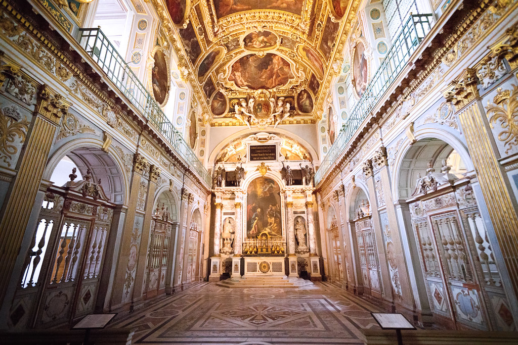 Palace of Fontainebleau - Chapelle de la Trinite
